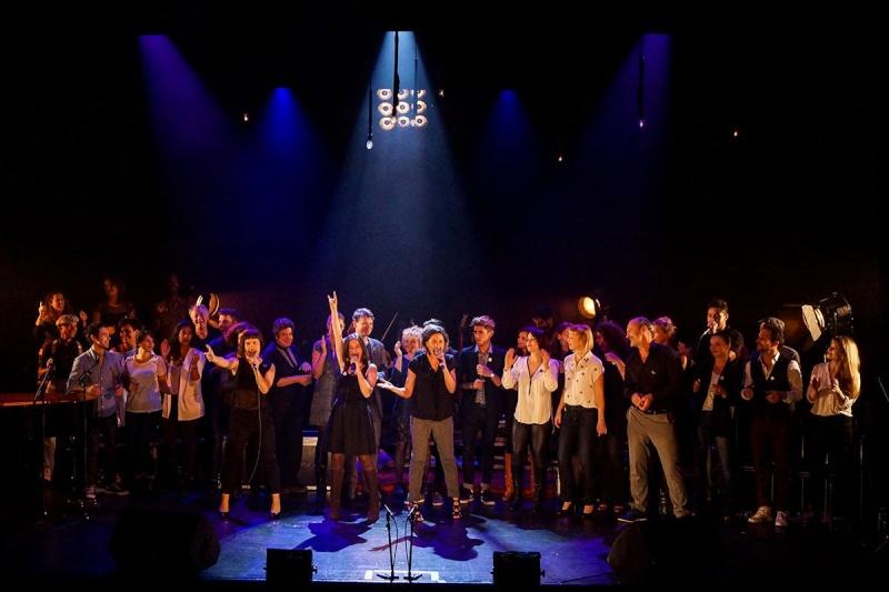 Concert des Funambules au 20ème Théâtre (2014) 20141017