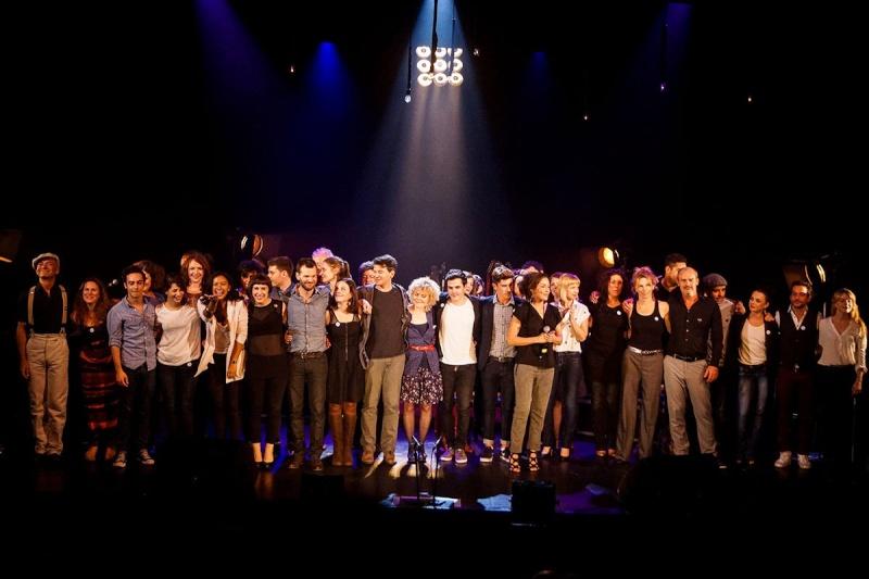 Concert des Funambules au 20ème Théâtre (2014) 20141018