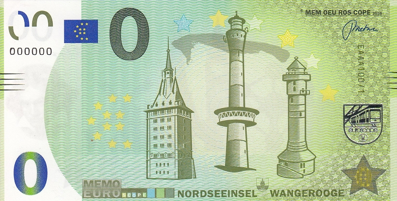 Billets Memo Euro scope 100-110