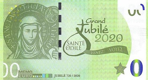 Billet Memo Euro scope = 2 116-10