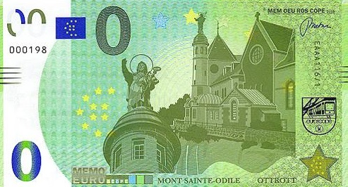 Billet Memo Euro scope = 2 11610