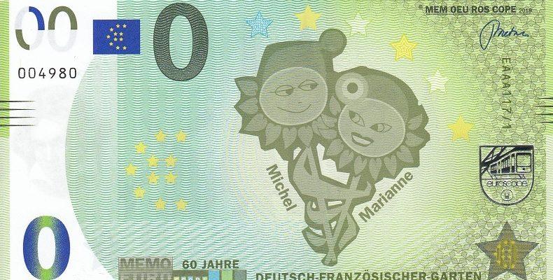 Billets Memo Euro scope 11710