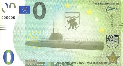 Billets Memo Euro scope 12510