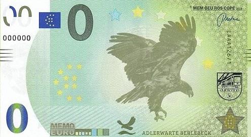 Billets Memo Euro scope 12610