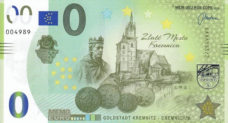 billets mémoeuro 133210