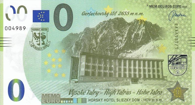 billets mémoeuro 133310
