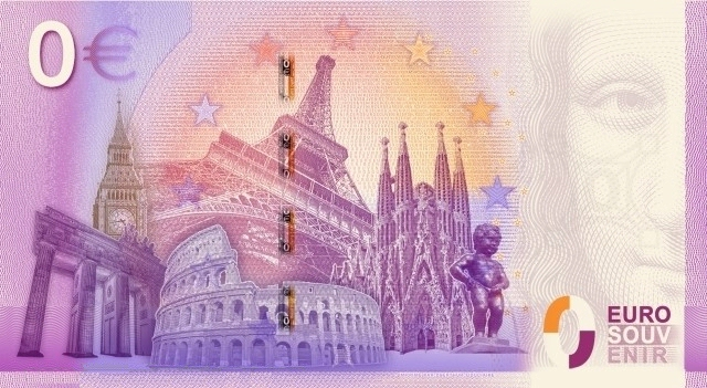Billet Euro Souvenir (Technique) 201610