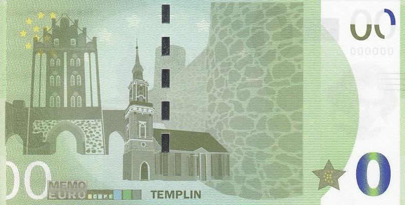 Billets Memo Euro scope 7410