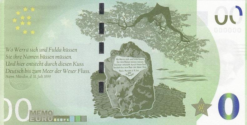 Billets Memo Euro scope 7810