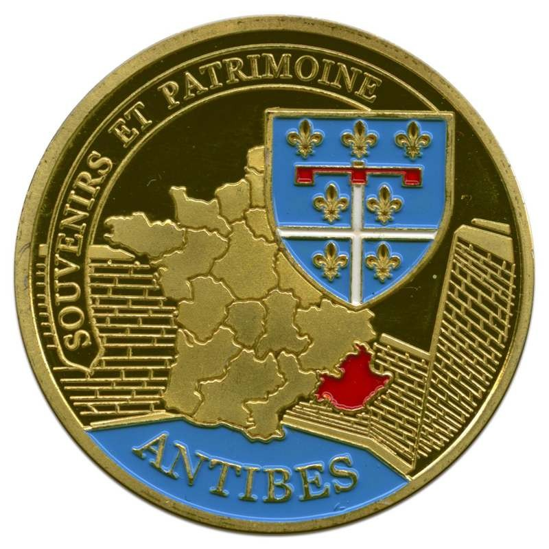Souvenirs et Patrimoine 34mm =  86 Antibe11