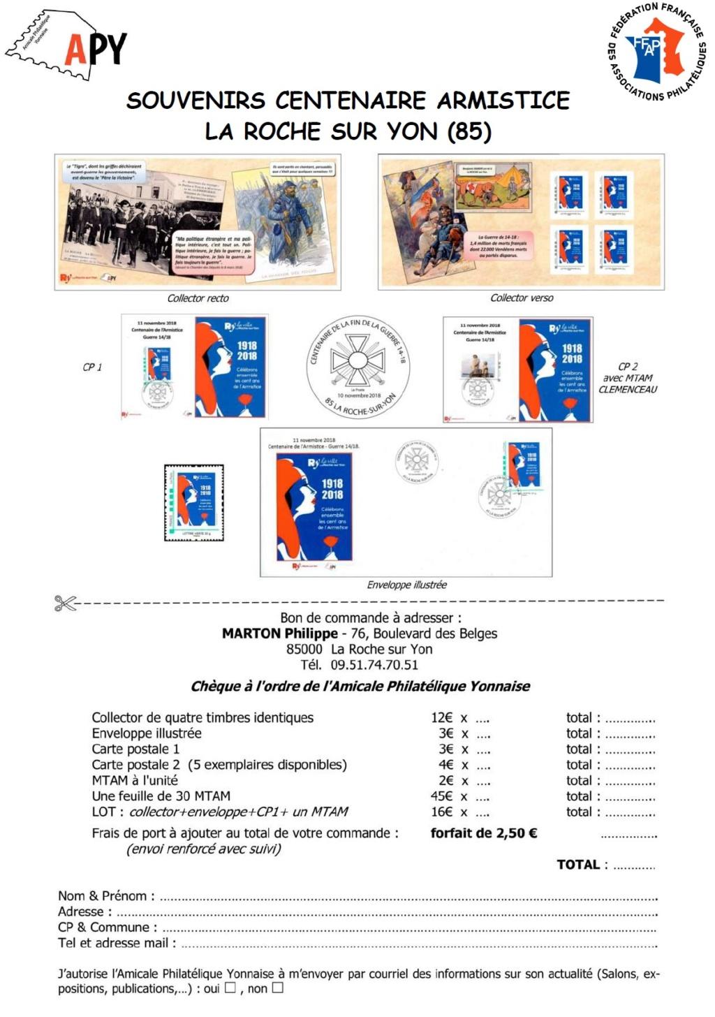 85 - La Roche-sur -Yon - Association Philatélique Yonnaise Apy10