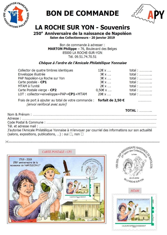 85 - La Roche-sur -Yon - Association Philatélique Yonnaise Apy110