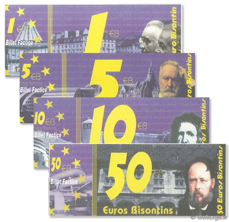Premiers billets en Ecu/Euro Besans10