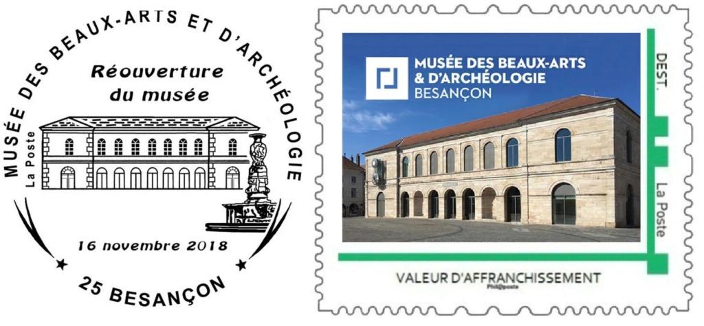 25 - Besançon - Société Philatélique   Besanz10