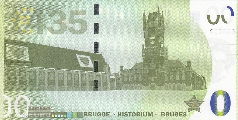 Billets Memo Euro scope =  9 Bruges10
