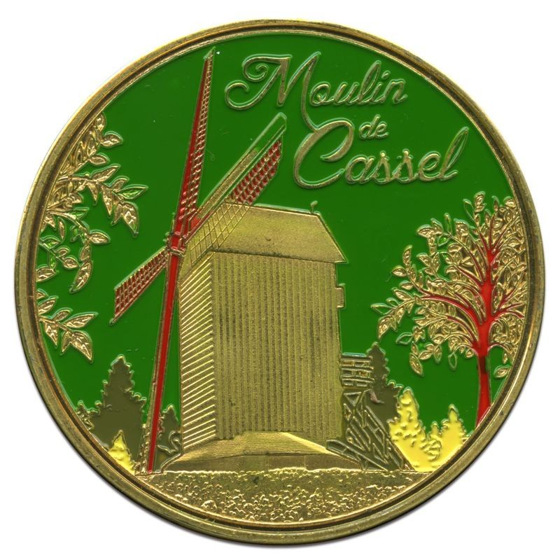 Souvenirs et Patrimoine 40mm =  20 Cassel10