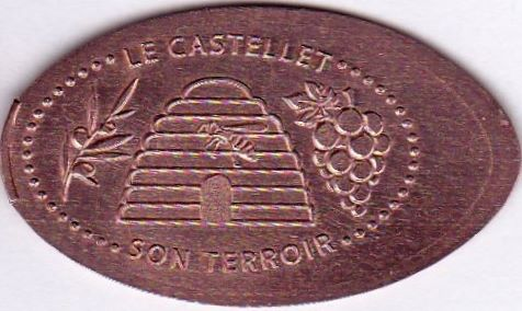 Elongated-Coin Castel10