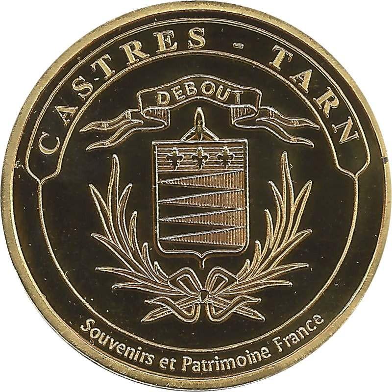 Souvenirs et Patrimoine 34mm  Castre11