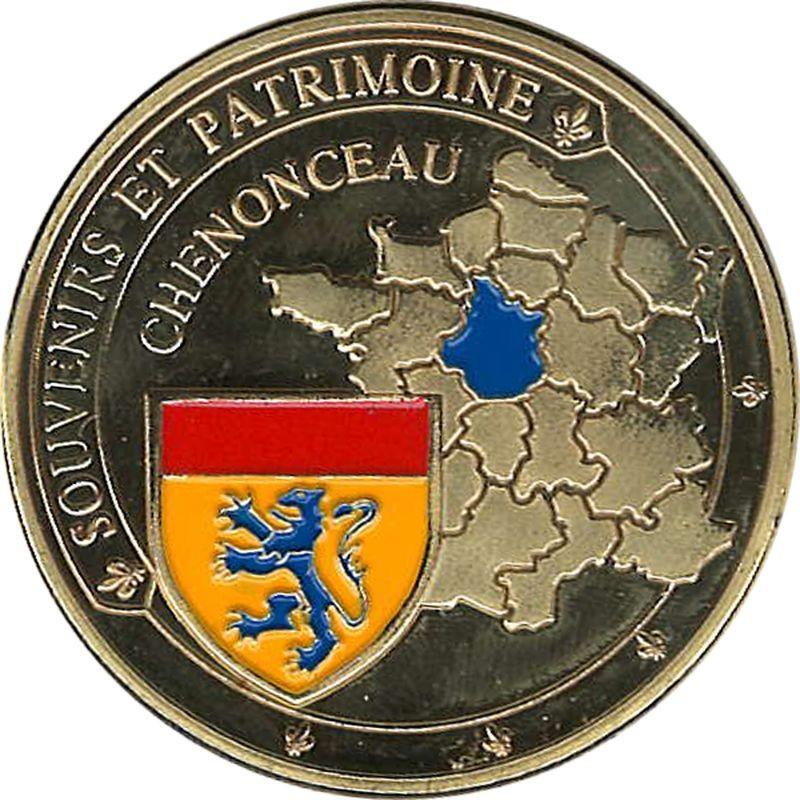 Souvenirs et Patrimoine 40mm  Chenon10