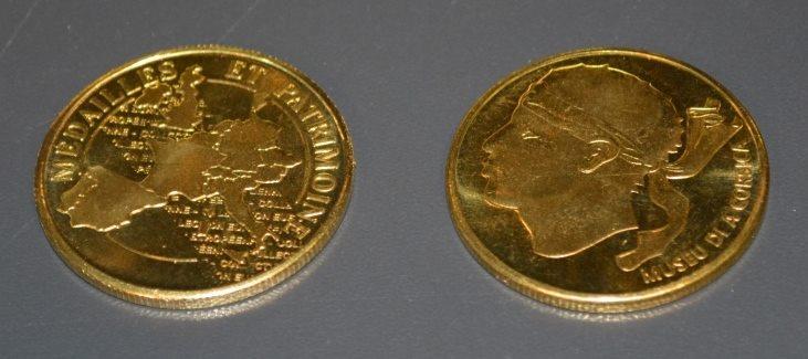 Médailles et Patrimoine Corte10