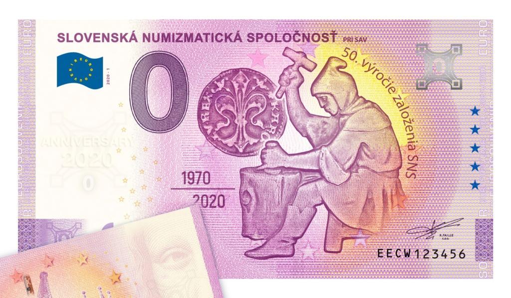 Billets souvenirs 2020 Cw10