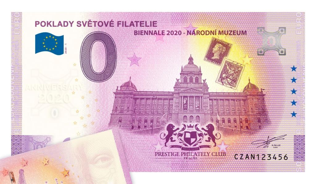 billets souvenirs 2020 Czan10