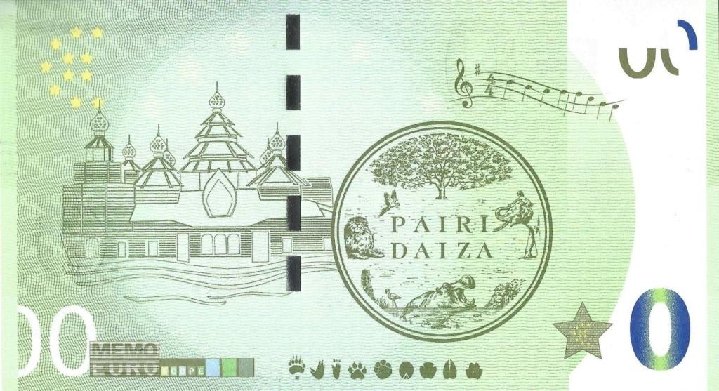 Billets Memo Euro scope =  9 Daiza10