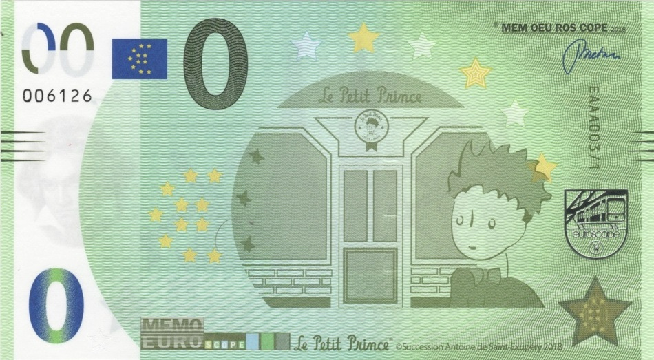Billets Mémo Euro Scope Eaaa0014