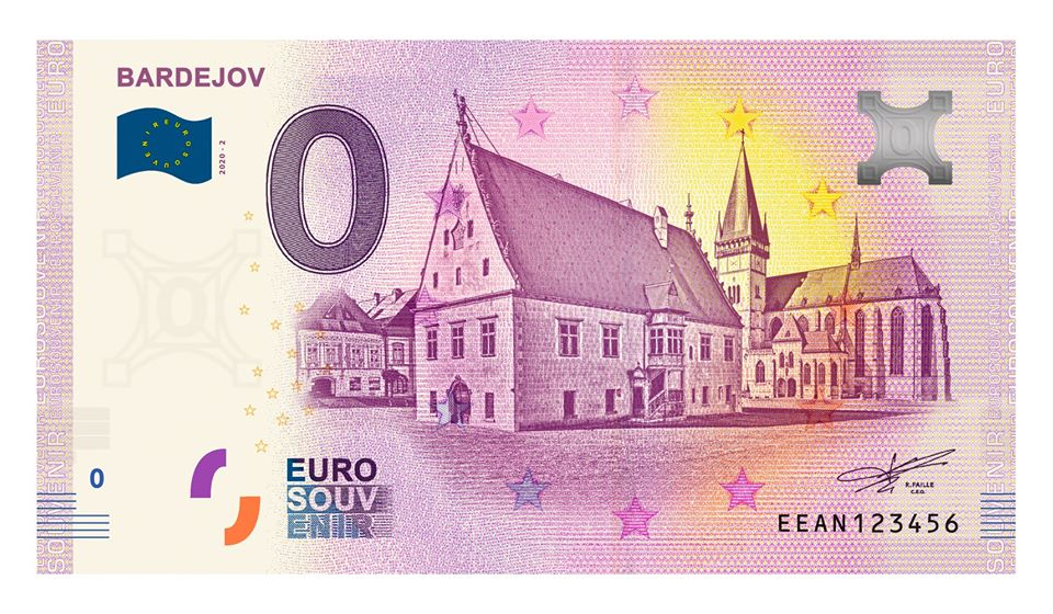Billets souvenirs 2020 Eean210