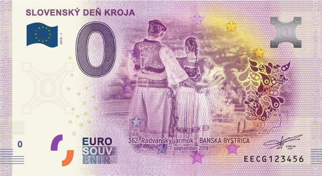 Billets Souvenirs 2019 Eecg10