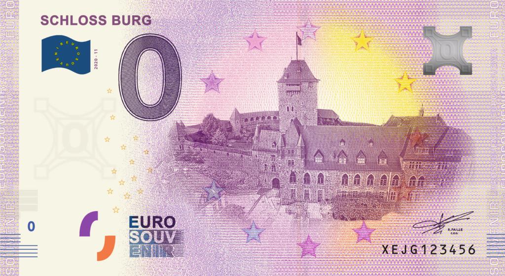 Billets souvenirs 2020 Fra_de19