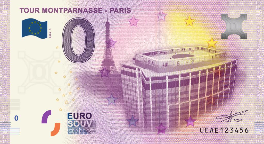 Billets 0 € Souvenirs  [Paris = 81] Fra_fr15