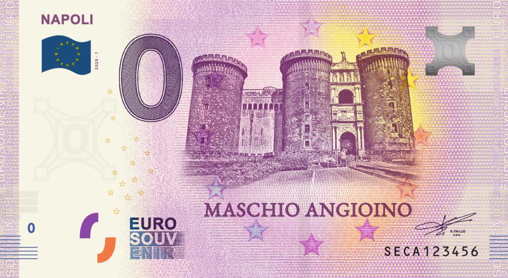 Billets Euro Souvenir 2020 Fra_it10