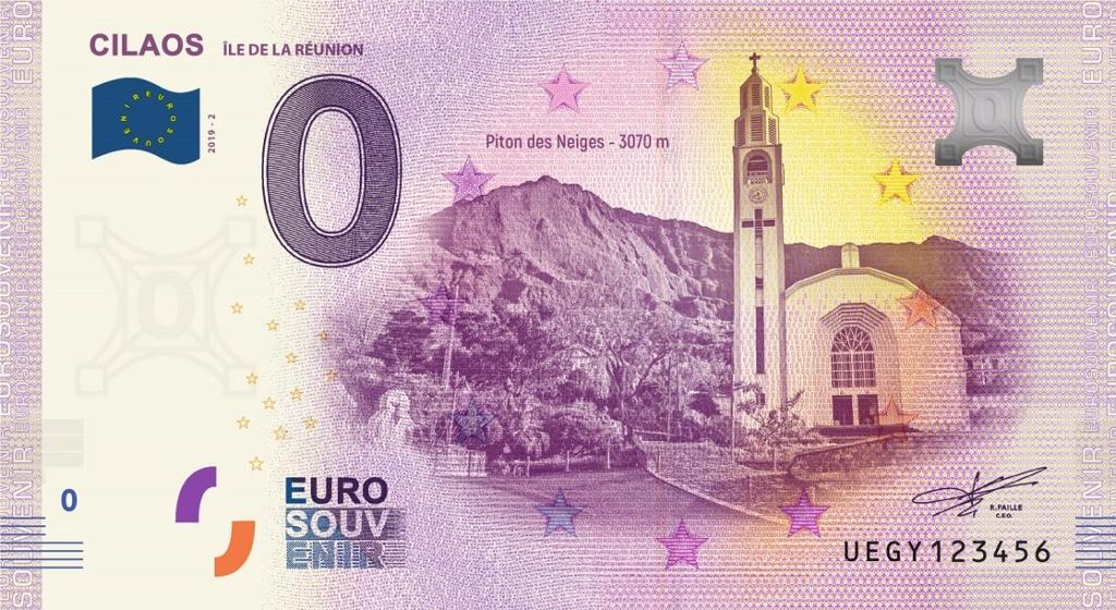 Billets Euro Souvenir = 11 Fra_ue15