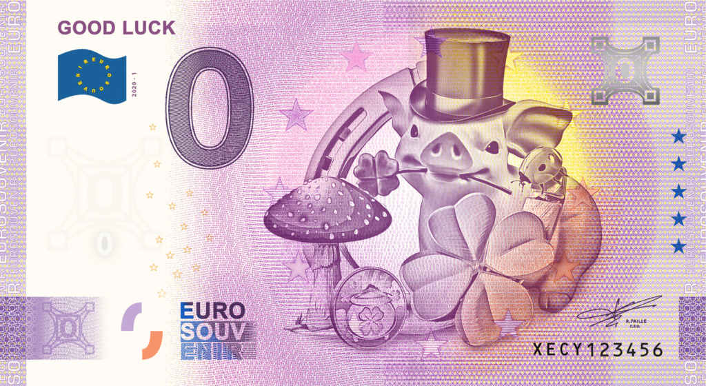 Billets souvenirs 2020 Fra_xe13