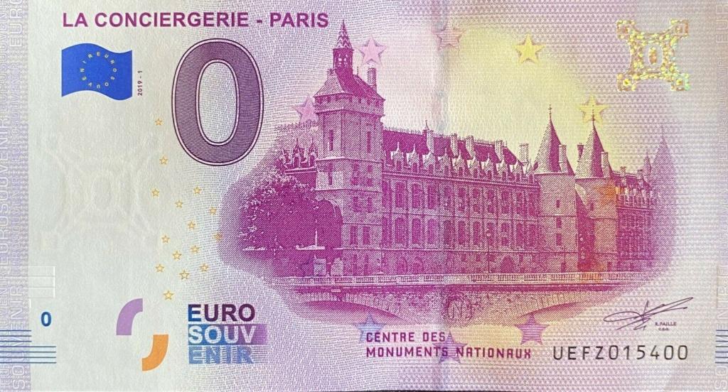 Billets 0 € Souvenirs  [Paris = 81] Fz10