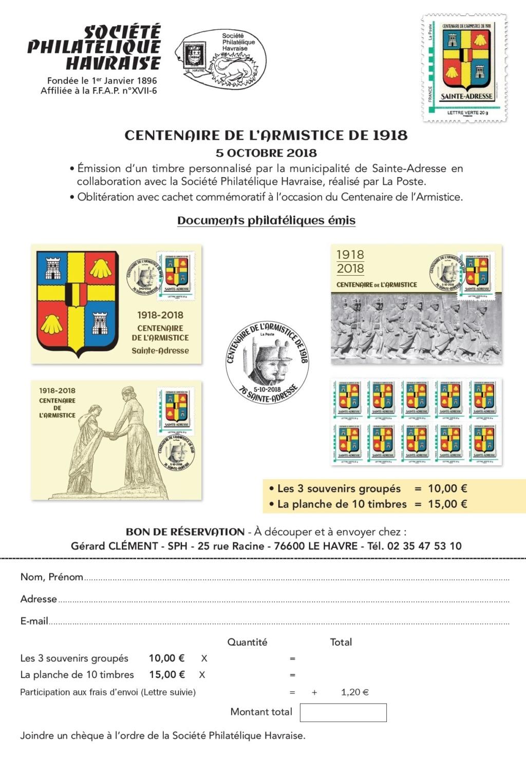 76 - Le Havre - Societe Philatelique Havraise Havre10