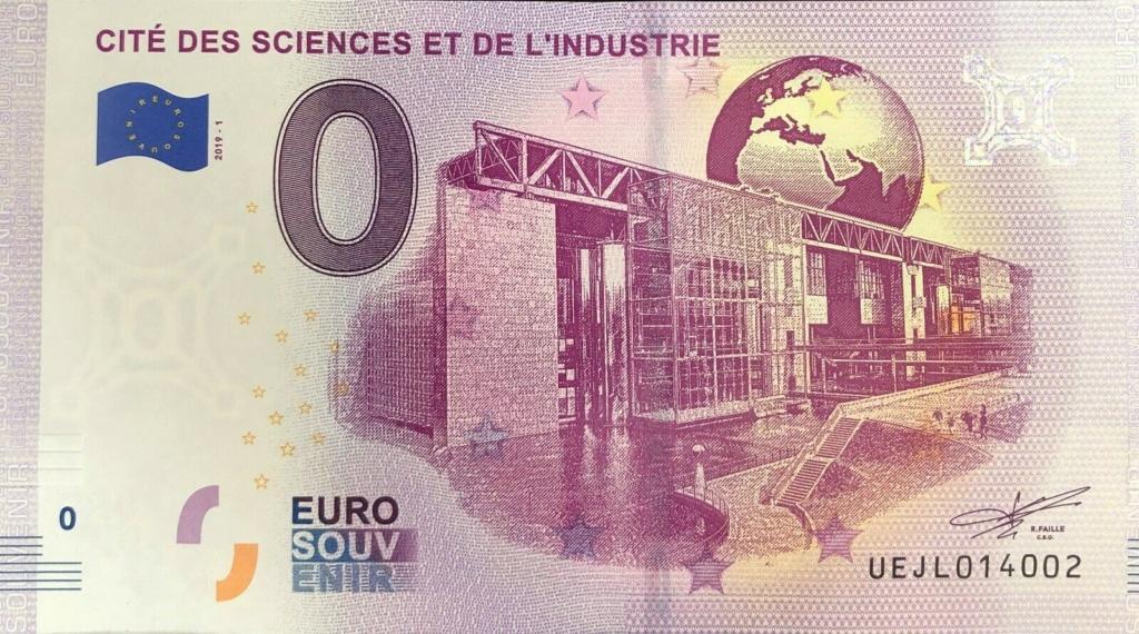 Billets 0 € Souvenirs  [Paris = 81] Jl10