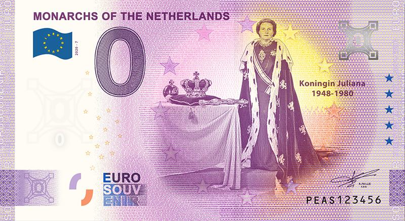 Billets 0 euro 2020 Julian10