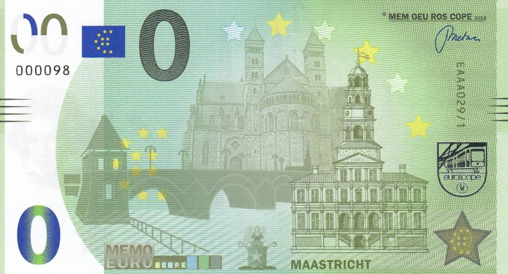 Liste codes Memo Euro scope [001 à 100] Maastr10