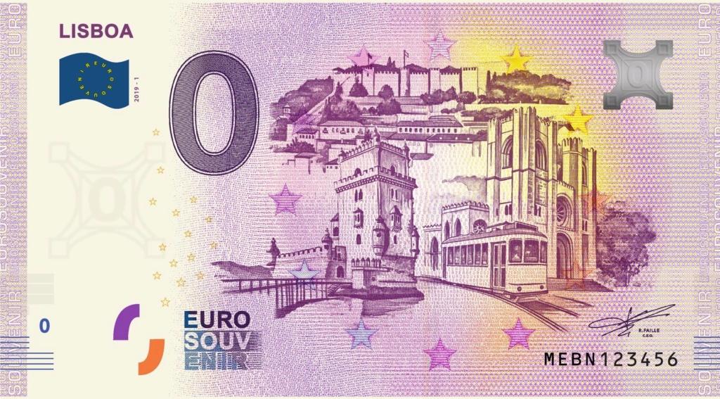 Billets souvenirs 2019 Mebn10