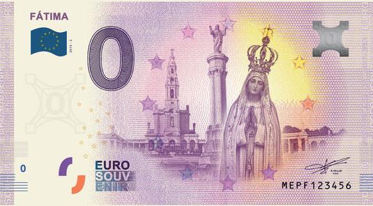 Billets souvenirs 2019 Mepf10