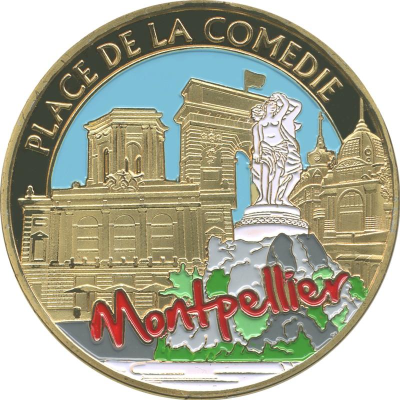 Souvenirs et Patrimoine 40mm  Montpe15