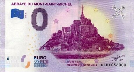 Billets 0 € Souvenirs [Normandie = 52] Msm10