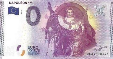 Billets 0 € Souvenirs  [Paris = 81] Napole10