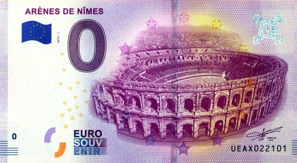 Billets 0 € Souvenirs = 80 Nimes11