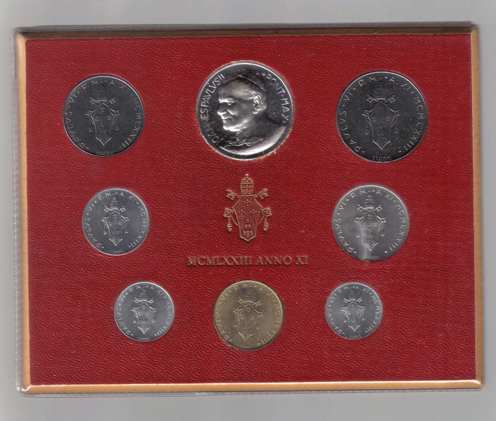 Vatican et médailles papales Pape10