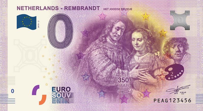 Billets euro souvenir (BES) Peag210