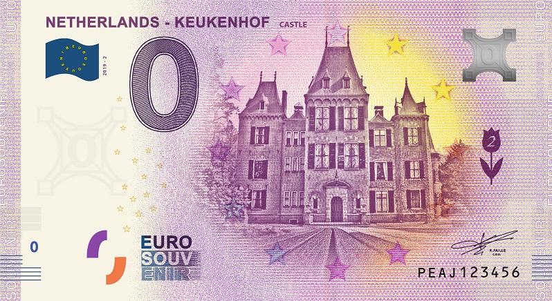 Billets euro souvenir (BES) Peaj210