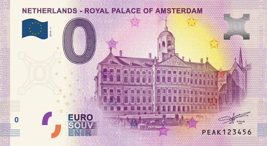 Billets euro souvenir (BES) Peak1_10
